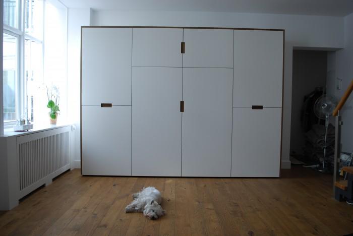 Måttbeställd garderob / platsbyggd garderob