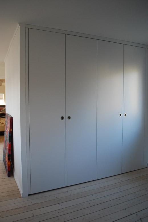 platsbyggd garderob limhamn